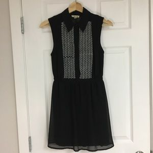Urban Outfitters sheer shirt dress, size XS.